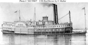 USS Red Rover, a floating hospital